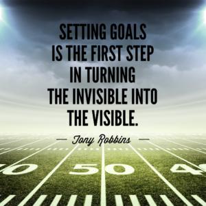 Tony Robbins goal quote