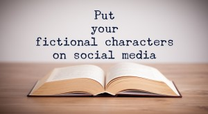 fictional characters on social media