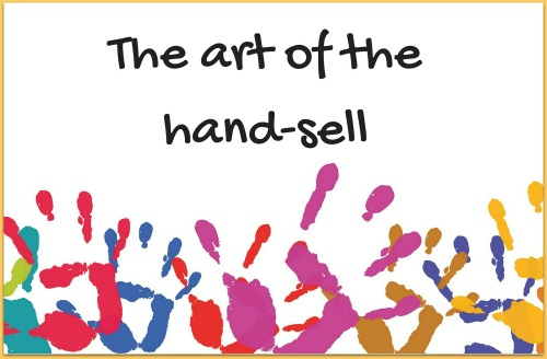 hand-sell books