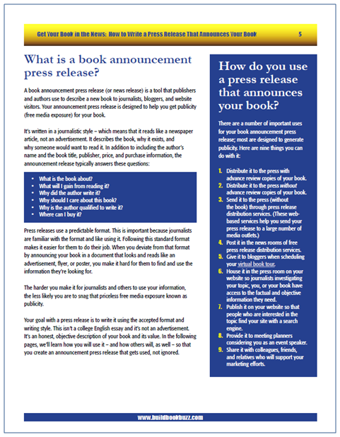 Get Your Book in the News | Build Book Buzz