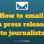 How to email a press release to journalists
