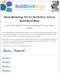 book marketing 101 for nonfiction