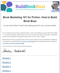 Book Marketing 101 for Fiction