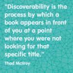 Discoverability and books