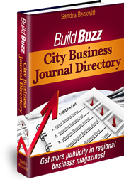 Build Buzz City Business Journal Directory
