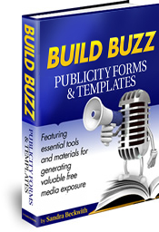 Build Buzz Publicity Forms & Templates