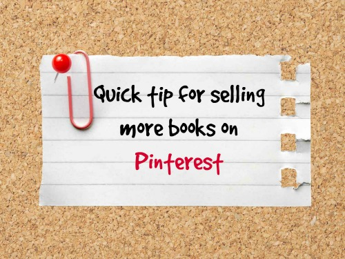selling more books on Pinterest