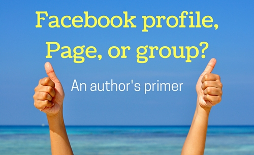 Facebook profile, Page, or group
