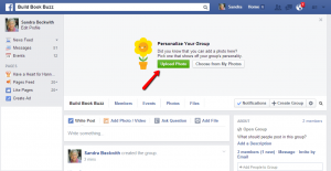 Create a Facebook group 6