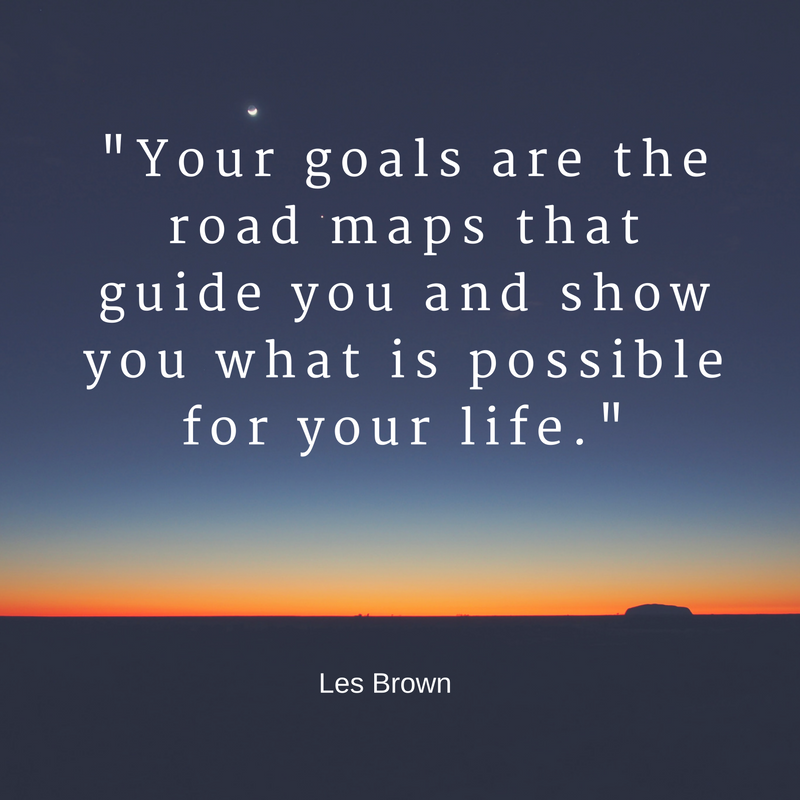 Les Brown goal quote