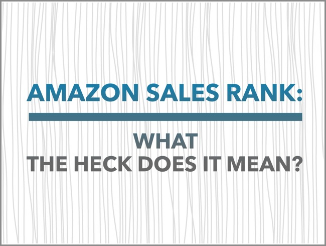 what is an amazon sales rank