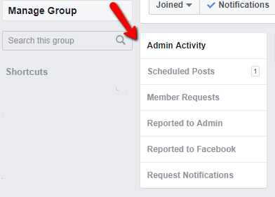 schedule a Facebook group post 6