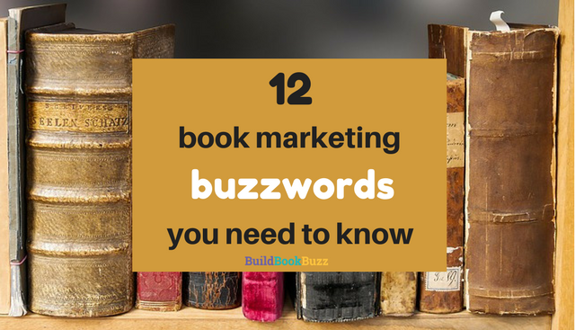 book marketing buzzwords
