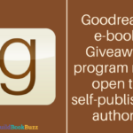 Goodreads e-book giveaway program now open to self-published authors
