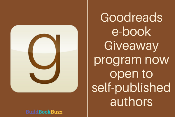 Goodreads e-book Giveaway