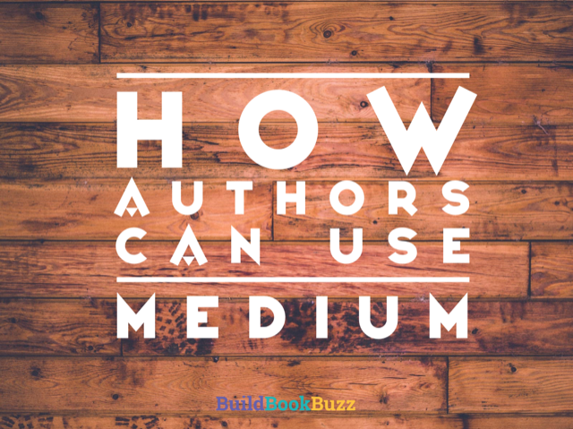 How authors can use Medium