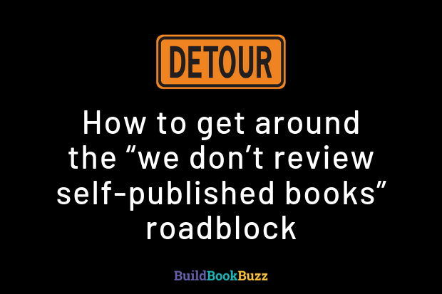 we don't review self-published books